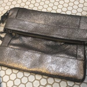 Joy Gryson crackled metallic bag